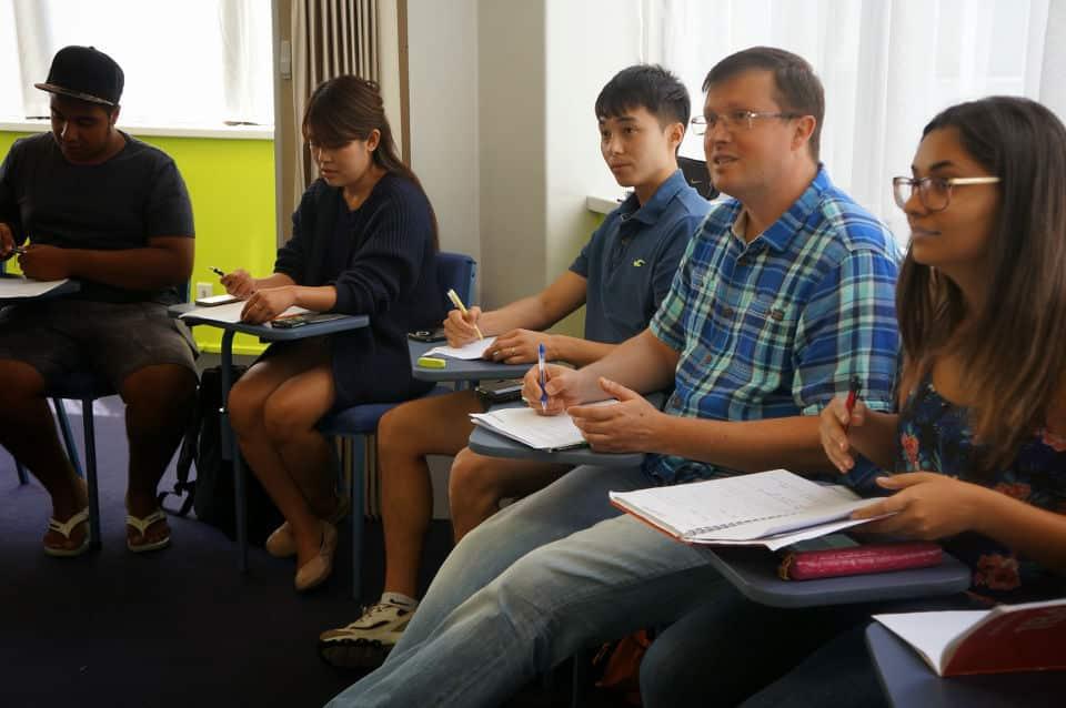 Escuela de inglés en Auckland para extranjeros