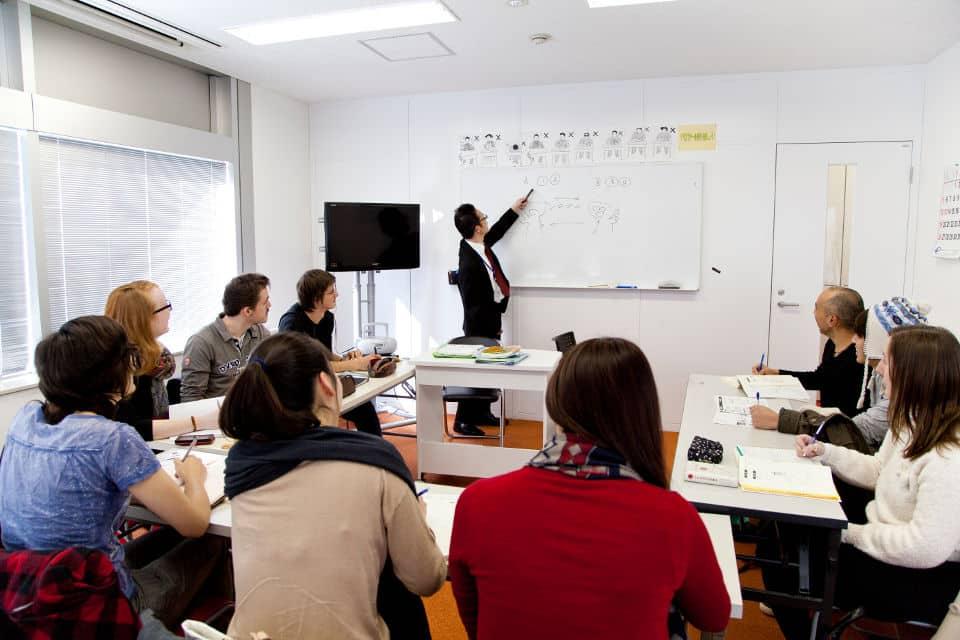Escuela de japonés en Tokio para extranjeros