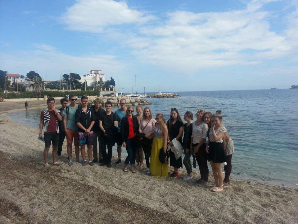 Estudiar francés en Niza Francia