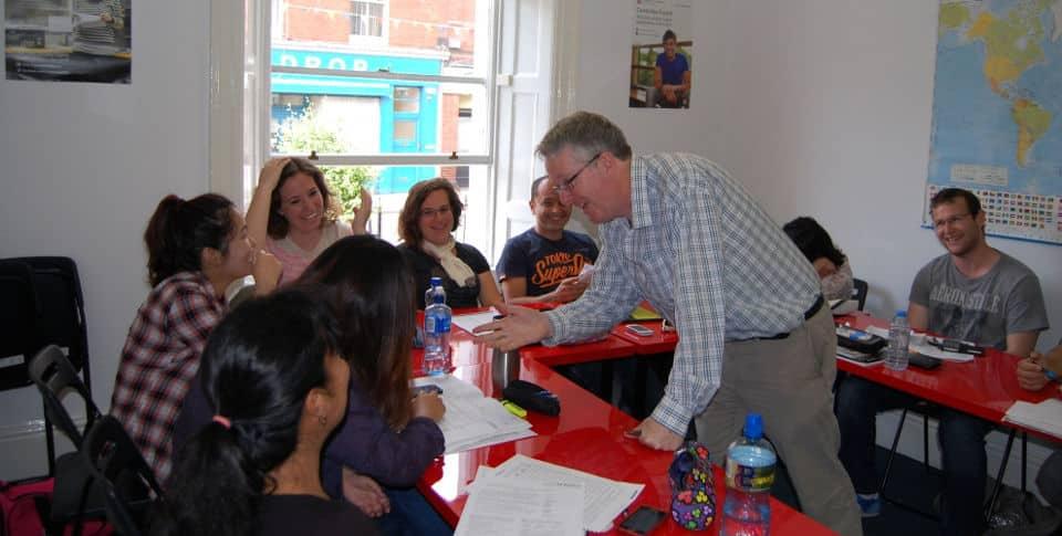 Escuela de inglés en Dublín para extranjeros