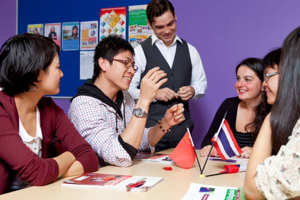 Escuela de inglés en Melbourne para extranjeros
