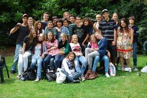 Campamento con lecciones de inglés en Cambridge Inglaterra