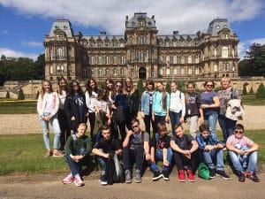 Campamento con lecciones de inglés en Inglaterra