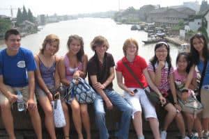 Campamento de inmersión lingüística en chino en China