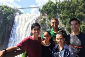 Campamento para aprender francés en Quebec