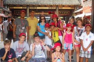 Campamentos y cursos de chino para niños y jóvenes extranjeros en China