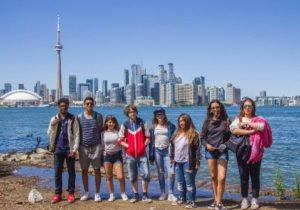 Programas de inmersión lingüística para niños y jóvenes en Toronto