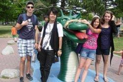 Campamento para aprender inglés en Canadá para niños y jóvenes extranjeros