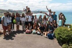 Campamento de francés en Biarritz para niños y jóvenes extranjeros